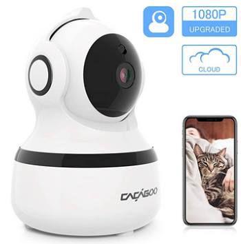 CACAGOO 1080p IP Cam mit Bewegungserkennung etc für 19,99€ (statt 30€)