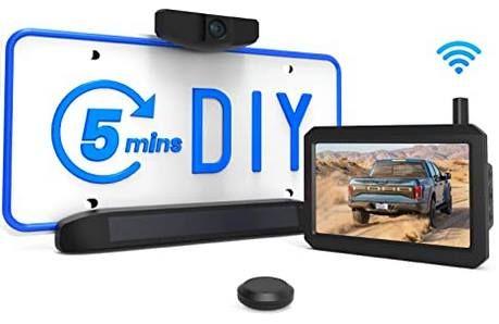 AUTO VOX Solar Rückfahrkamera Set mit Kamera & Monitor für 111,99€ (statt 160€)
