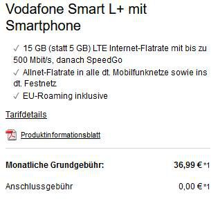 Xiaomi Mi 10 128GB + 32″ Xiaomi TV für 4,99€ + Vodafone Flat mit 15GB LTE für 36,99€ mtl.