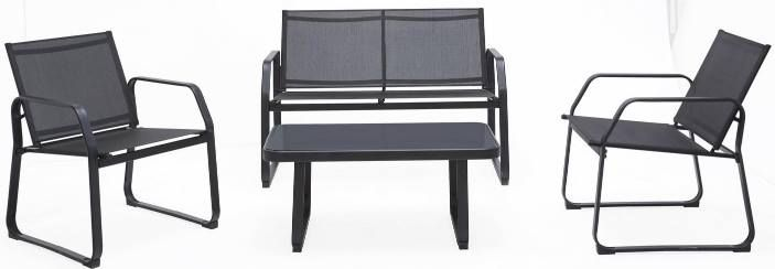 Loungegarnitur Pentos mit 2 Stühlen & Bank für 106,28€ (statt 139€)