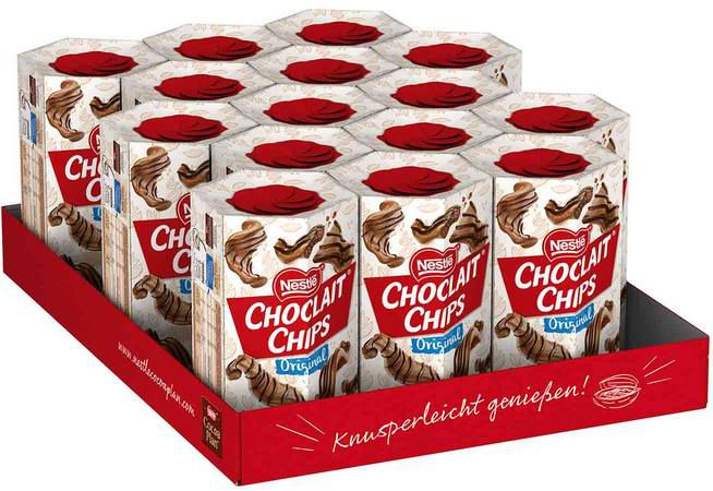 15x Nestlé Choclait Chips (115g) für 18,97€ (statt 21€)