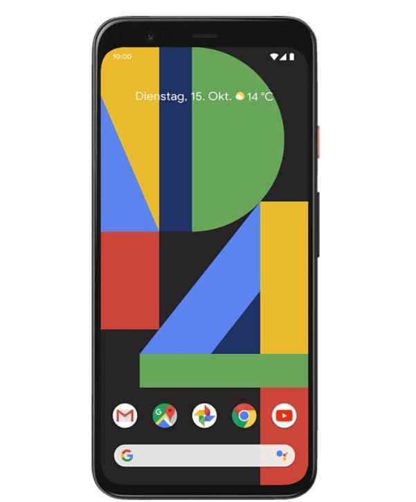 GOOGLE Pixel 4 64 GB Smartphone in Just Black, Crystal White ab je 459€ (statt 525€)