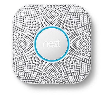 Google Nest Protect Rauch  und Kohlenmonoxidmelder (2. Generation) für 99€ (statt 120€)
