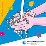 """""""Richtig Hände waschen"""" – Aufkleber gratis anfordern"""