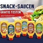Homann Snack Saucen gratis ausprobieren