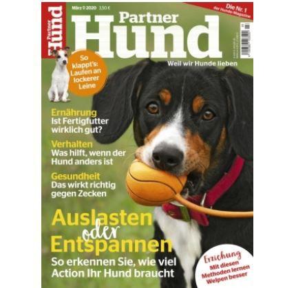Jahresabo Partner Hund für 23,40€ (statt 47€)