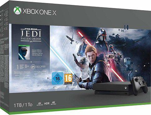 Xbox One X 1TB Star Wars Jedi: Fallen Order für 279€ (statt 343€)