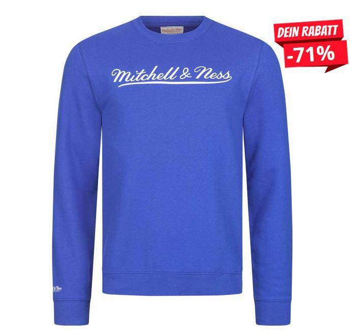 Mitchell & Ness Script Crew Herren Sweatshirt ab 15,99€ (statt 26€)