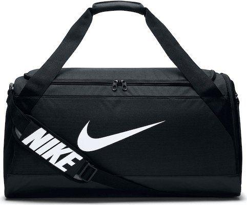 Nike Brasilia Duffel Sporttasche Medium in Schwarz für 28€ (statt 35€)