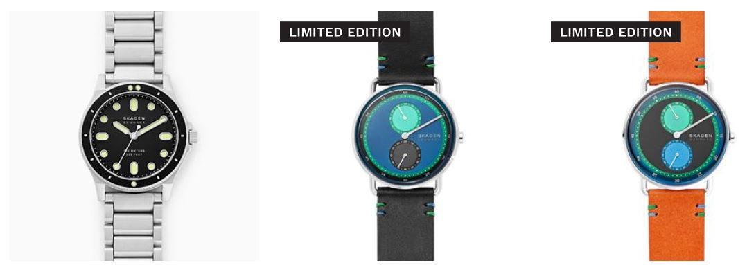 Skagen Oster Sale mit 50% Rabatt oder 30% extra Rabatt auf reguläre Uhren