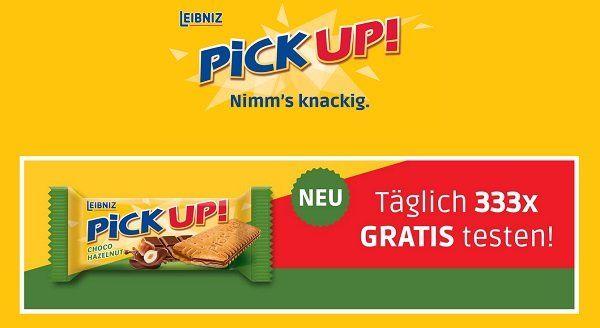 PiCK UP! Choco Hazelnut von Leibnitz gratis ausprobieren