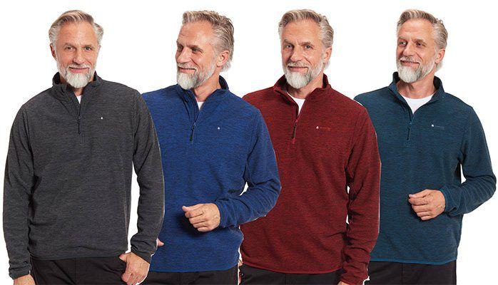 4x Mountain Pro Fleeceshirt in 4 Farben für 22,36€ (5,59€ / Shirt)