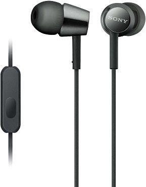 SONY MDR EX155AP In ear Kopfhörer mit Headsetfunktion für 14,99€ (statt 25€)