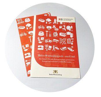 Zum Thema Teilen oder Helfen kostenlose Aufkleber für den Briefkasten anfordern