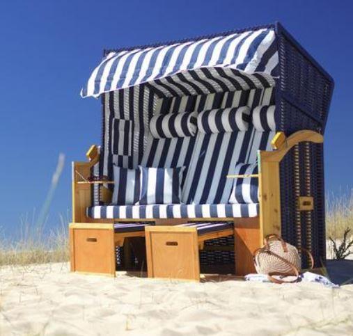 Bessagi Sissi Strandkorb inkl. Abdeckung für 299,25€ (statt 399€)
