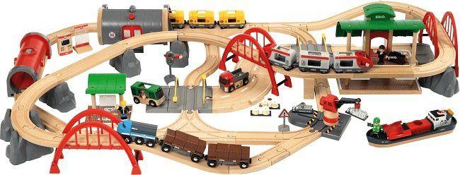 BRIO World 33052 Straßen und Schienen Set Deluxe ab 129,99€ (statt 187€)