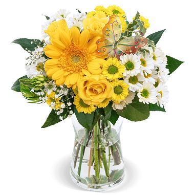 Blumenstrauß Trendsetterin mit Rosen, Gerbera, u.a. für 24,53€