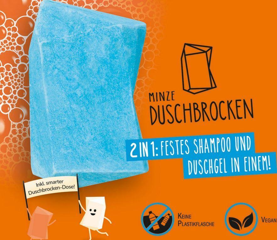 Höhle der Löwen Topdeal heute: Duschbrocken Shampoo & Duschgel mit Dose ab 9,99€