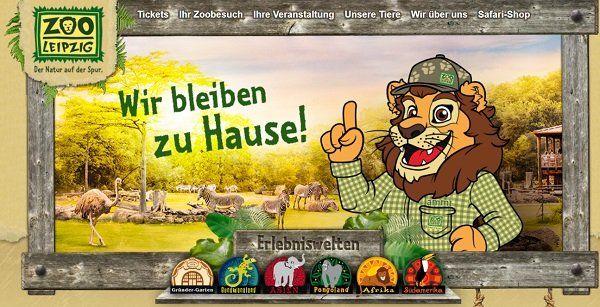 Mit dem Zoo Leipzig gratis online spielen oder basteln