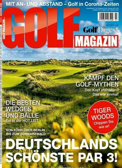 12 Ausgaben vom GOLF Magazin für 90€ inkl. 80€ Amazon Gutschein