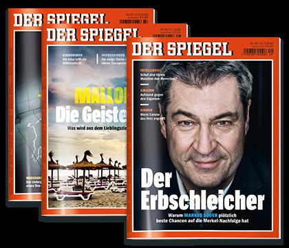 6 Ausgaben Der Spiegel für 23,90€ + 15€ Amazon Gutschein