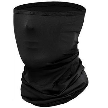 Multifunktionstuch / Schlauchtuch in Schwarz für 3,99€   Prime