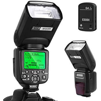 ESDDI PLF 550 Blitz für Sony TTL 1/8000 Hss 2.4GHz für 41,18€ (statt 75€)