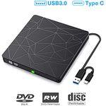 Sawake USB 3.0 & Type-C externes CD- & DVD-Laufwerk für 14,40€ (statt 24€)
