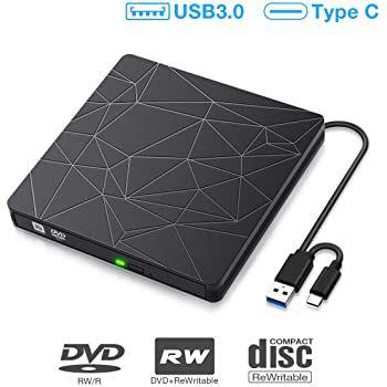 Sawake USB 3.0 & Type C externes CD  & DVD Laufwerk für 14,40€ (statt 24€)