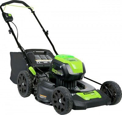 Greenworks Akku Rasenmäher 80 V mit Radantrieb ab 117€ (statt 284€)