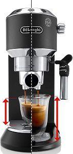 DELONGHI EC 685.BK Dedica Style   Espresso Siebträgermaschine für 129,39€ (statt 155€)