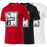 Puma Check Graphic T-Shirt in 3 Farben für je 12,80€ (statt 16€)