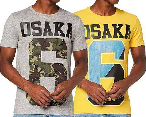 Superdry Herren T Shirt Osaka in Gelb oder Grau für je 13,95€ (statt ~25€)