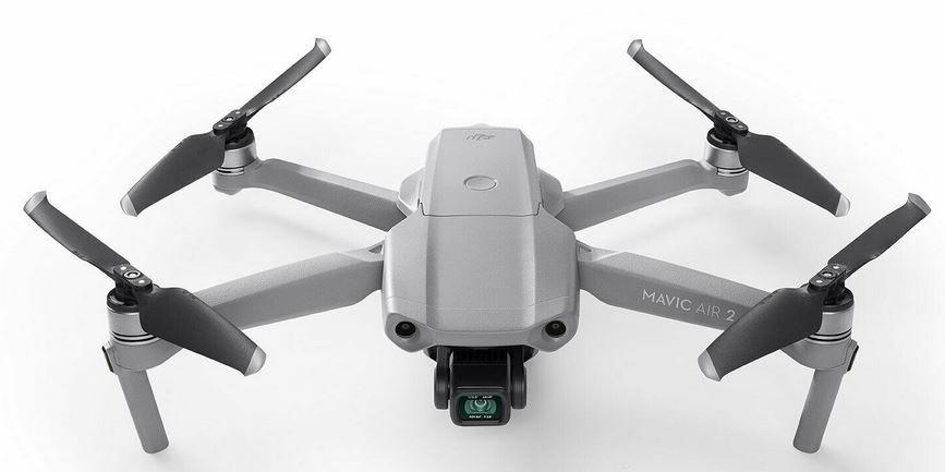 DJI Mavic Air 2 Kameradrohne mit 48MP 8K Hyperlapse für 733€ (statt 815)