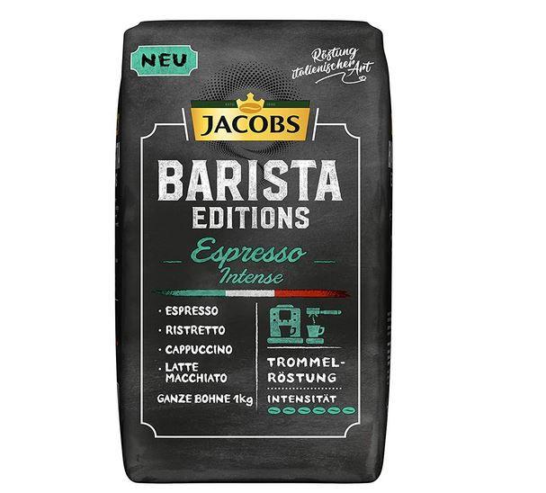 Jacobs Barista Intense   1kg Espresso Bohnen ab 8,23€ (statt 13€)