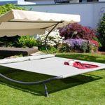 Solax Sunshine Doppel-Gartenliege inkl. abnehmbarer Kopfkissen für 103,95€ (statt 124€)