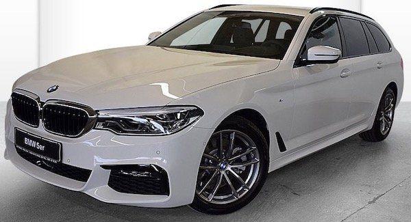 BMW 520 d M Sport mit 190 PS im Leasing für 399€ mtl.   LF: 0.62