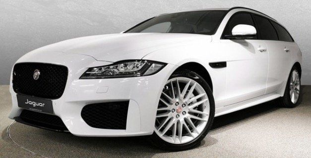 Privat & Gewerbe: Jaguar XF 30t AWD Chequered Flag in Yulong White mit 300PS für 399€   LF 0,53