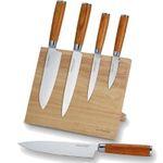 Echtwerk Damaszener Messer Set 5teilig inkl. Magnet-Messerblock ab 89,99€ (statt 120€)