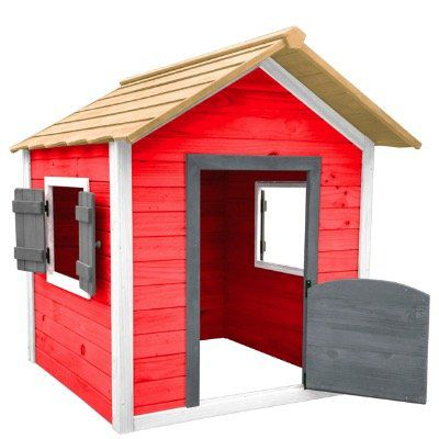 HOME DELUXE Spielhaus Das kleine Schloss (118x138x133cm) für 174,51€ (statt 200€)