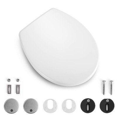TACKLIFE Toilettensitz DBTS06B mit Absenk Automatik und Quick Realse aus Duroplast für 25,86€ (statt 37€)