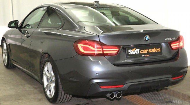 Privat & Gewerbe: BMW 420d M Sport mit 190PS und Navi Professional und LED (Bj.6/2019 ) für 249€   LF 0,43