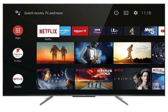 TCL 55 C 715   55 Zoll QLED UHD Fernseher für 499€ (statt 656€)