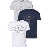 3er Set Chiemsee Herren T-Shirts für 39,99€ (statt 66€) + Nordcap Rucksack mit Kühlfach gratis