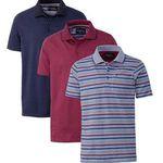 3er Pack Henson&Henson Herren Poloshirts für 32€ (statt 60€) + Nordcap Rucksack mit Kühlfach gratis