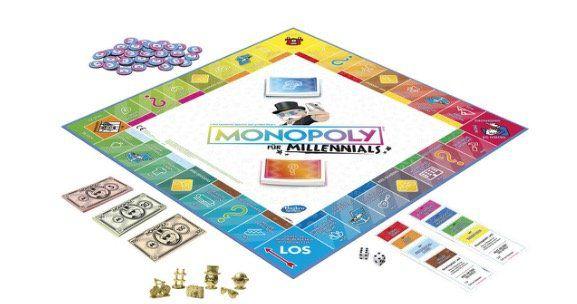 Hasbro Monopoly Millennials für 18,94€ (statt 24€)   oder 2x für 25,98€ (statt 49€)