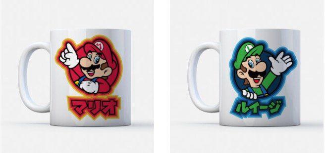 Nintendo T Shirt + Tasse für 11,48€ (statt 22€)