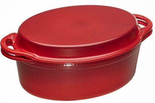 Le Creuset 32cm Bräter oval mit Grilldeckel für 223,20€ (statt 359€)