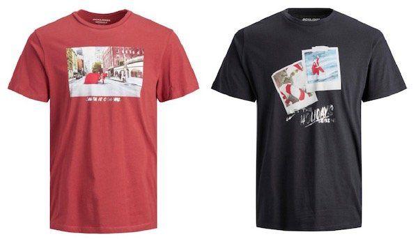 Jack & Jones Herren Kurzarm Rundhals T Shirt für 10€ (statt 15€)