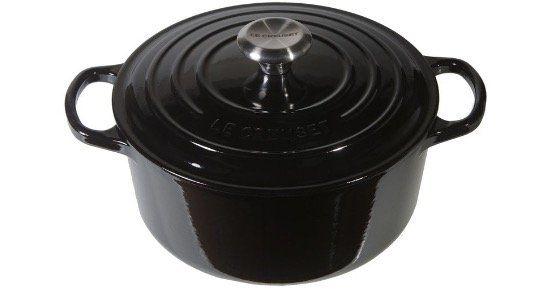 Le Creuset Gusseisen Bräter 24cm in Schwarz glänzend ab 125,75€ (statt 193€)
